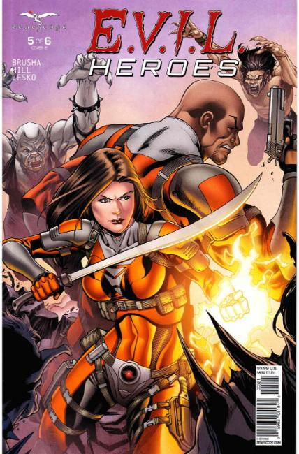 Evil Heroes #5 Cover B [Zenescope Comic] THUMBNAIL