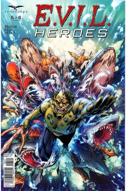 Evil Heroes #5 Cover D [Zenescope Comic] THUMBNAIL