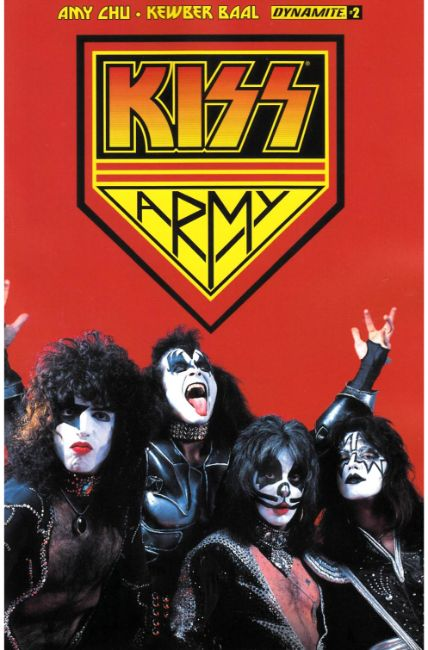 KISS #2 Cover G- Kiss Army Photo [Dynamite Comic] THUMBNAIL