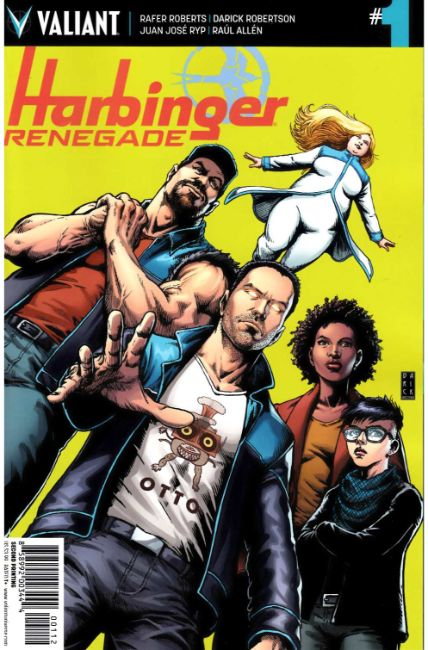 Harbinger Renegade #1 Second Printing [Valiant Comic]