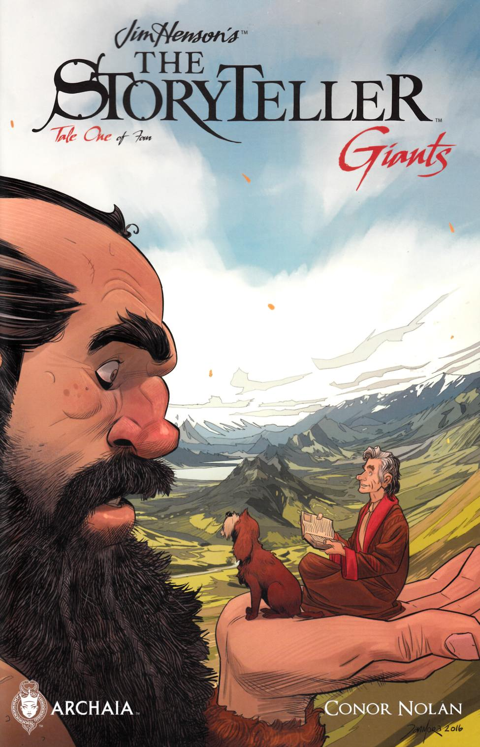 Jim Henson Storyteller Giants #1 FOC Variant Cover [Boom Comic] THUMBNAIL