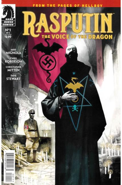 Rasputin Voice of Dragon #1 [Dark Horse Comic] THUMBNAIL