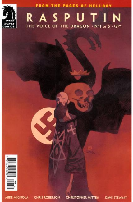 Rasputin Voice of Dragon #1 Mignola Variant Cover [Dark Horse Comic] THUMBNAIL