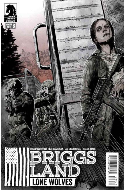 Briggs Land Lone Wolves #6 Jones Variant Cover [Dark Horse Comic] THUMBNAIL