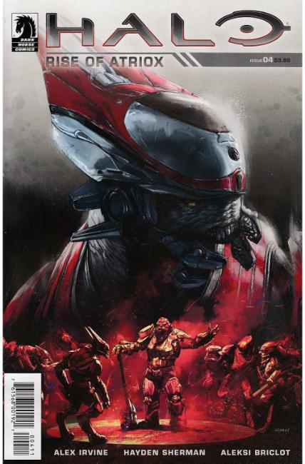 Halo Rise of Atriox #4 [Dark Horse Comic] LARGE