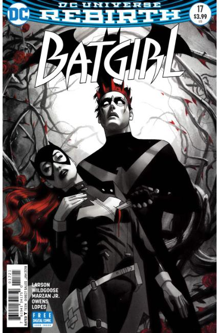 Batgirl #17 Middleton Variant Cover [DC Comic] LARGE