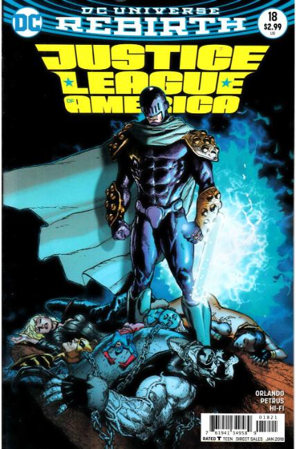 Justice League of America #18 Mahnke Variant Cover [DC Comic] THUMBNAIL