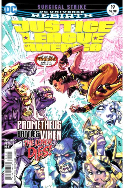 Justice League of America #19 [DC Comic] THUMBNAIL