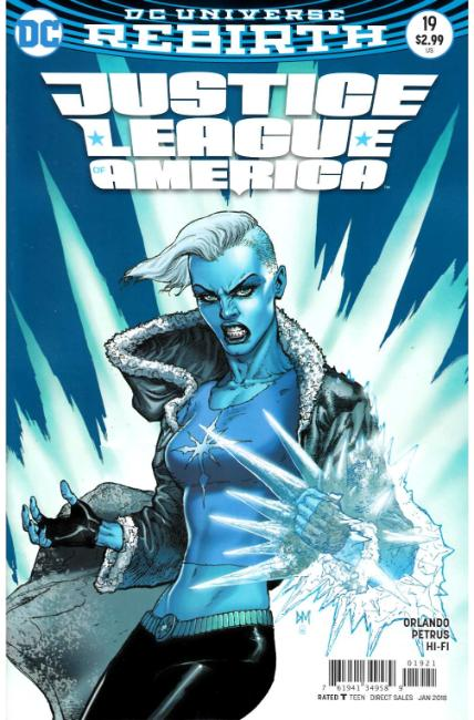 Justice League of America #19 Mahnke Variant Cover [DC Comic] THUMBNAIL