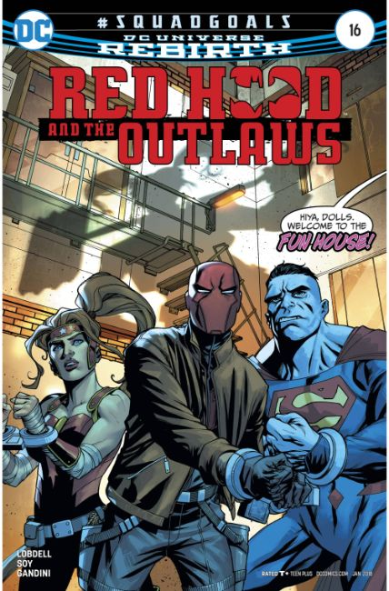 Red Hood and the Outlaws #16 [DC Comic] THUMBNAIL