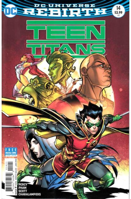 Teen Titans #14 Hardin Variant Cover [DC Comic]_LARGE