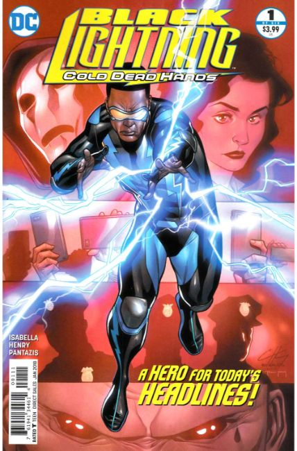 Black Lightning Cold Dead Hands #1 [DC Comic] THUMBNAIL