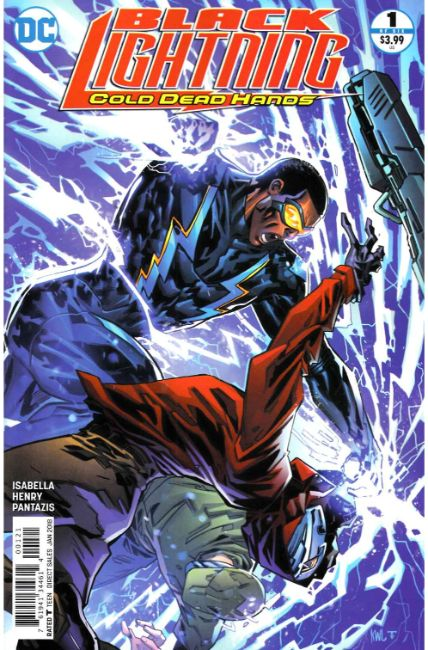 Black Lightning Cold Dead Hands #1 Lashley Variant [DC Comic] THUMBNAIL