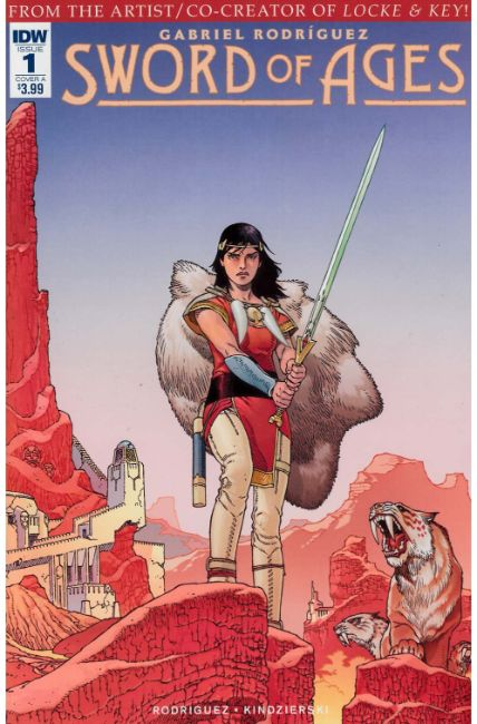 Sword of Ages #1 Cover A [IDW Comic] THUMBNAIL
