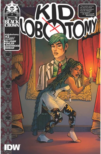 Kid Lobotomy #2 Cover A [IDW Comic]