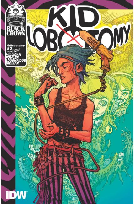 Kid Lobotomy #2 Cover B [IDW Comic]