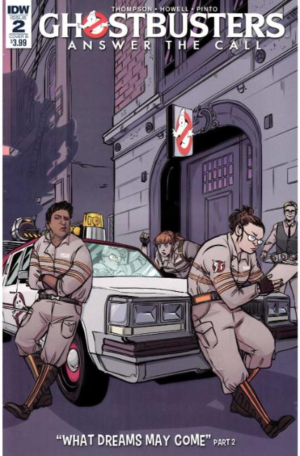 Ghostbusters Answer the Call #2 Cover B [IDW Comic] THUMBNAIL