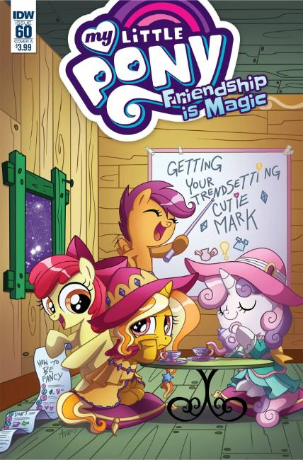 My Little Pony Friendship Is Magic #60 Cover A [IDW Comic] LARGE