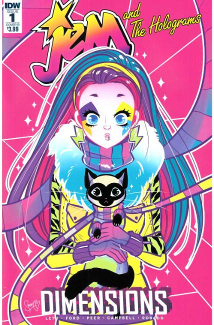 Jem & the Holograms Dimensions #1 Cover B [IDW Comic] THUMBNAIL