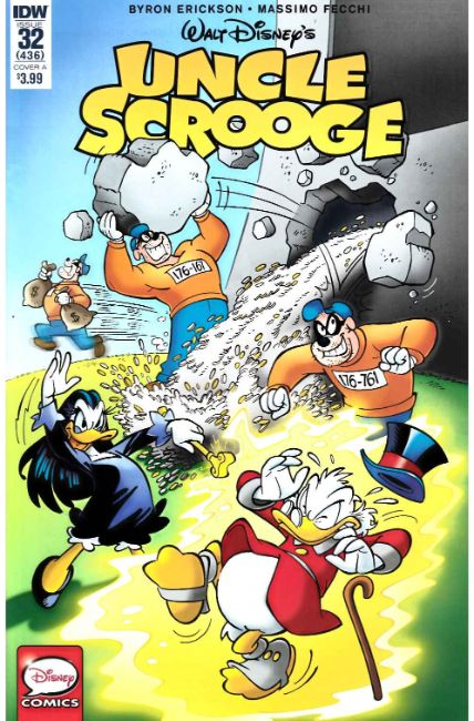 Uncle Scrooge #32 Cover A [IDW Comic] THUMBNAIL