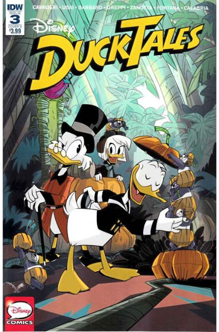 Ducktales #3 Cover B [IDW Comic]