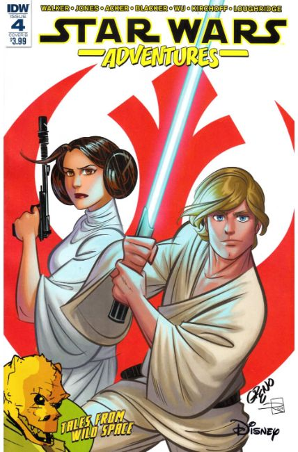 Star Wars Adventures #4 Cover B [IDW Comic] THUMBNAIL