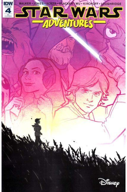 Star Wars Adventures #4 Cover RI [IDW Comic]