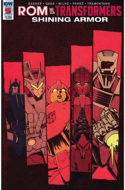 Rom vs Transformers Shining Armor #5 Cover B [IDW Comic] THUMBNAIL