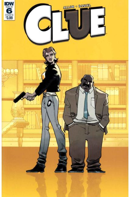 Clue #6 Cover B [IDW Comic] THUMBNAIL