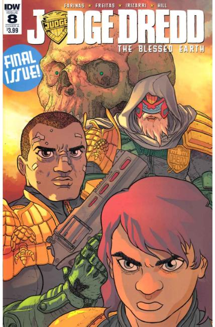 Judge Dredd Blessed Earth #8 Cover A [IDW Comic]