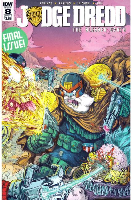Judge Dredd Blessed Earth #8 Cover B [IDW Comic]_LARGE
