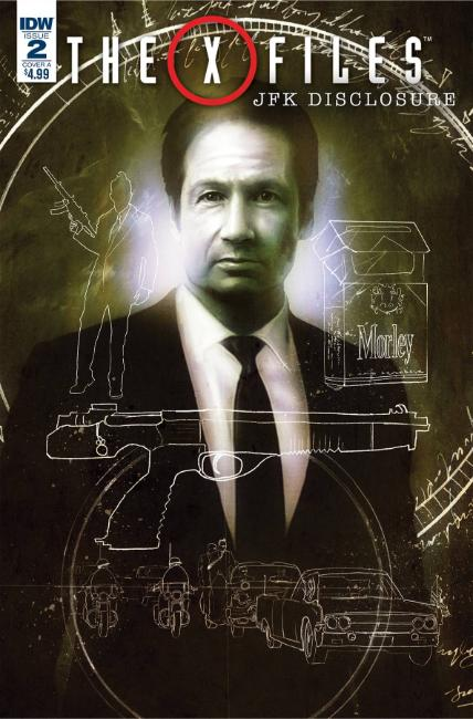 X-Files JFK Disclosure #2 Cover A [IDW Comic]_THUMBNAIL