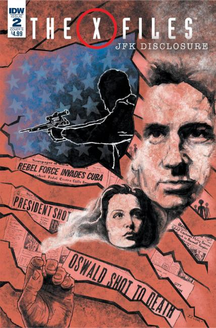 X-Files JFK Disclosure #2 Cover B [IDW Comic]_THUMBNAIL