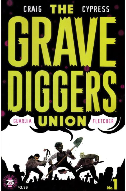 Gravediggers Union #1 [Image Comic] LARGE