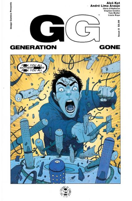 Generation Gone #5 [Image Comic] THUMBNAIL