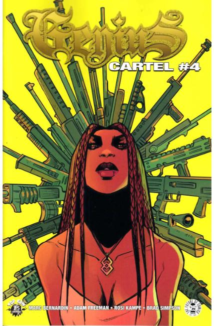 Genius Cartel #4 Cover B [Image Comic]