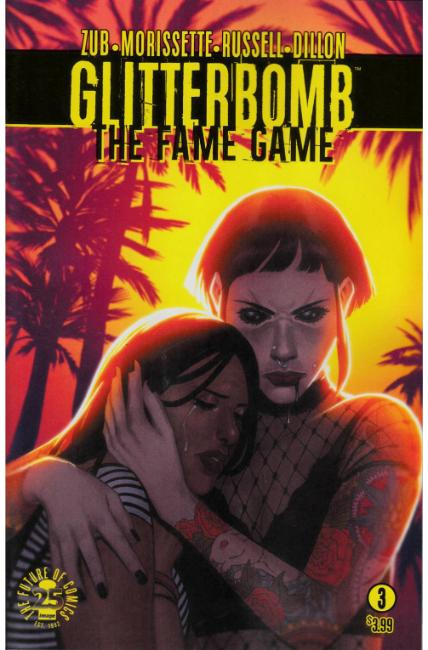 Glitterbomb Fame Game #3 Cover A [Image Comic] THUMBNAIL