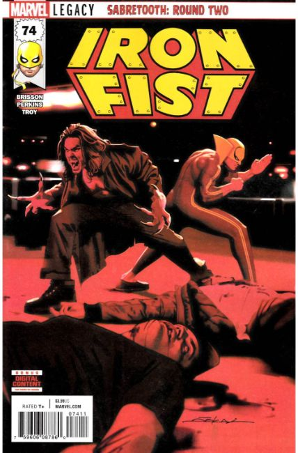 Iron Fist #74 [Marvel Comic] THUMBNAIL