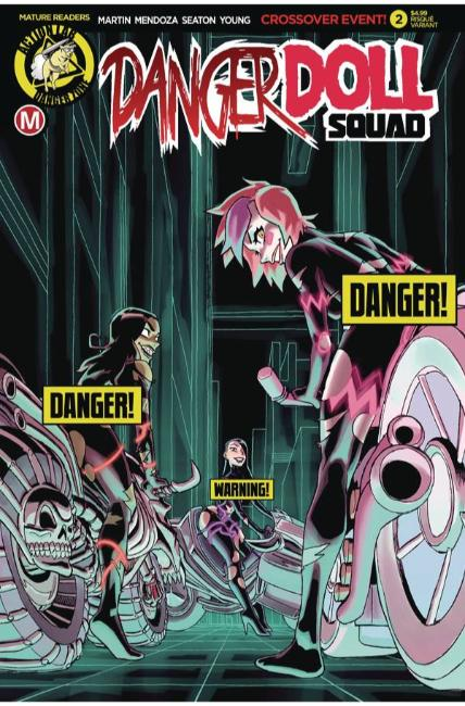 Danger Doll Squad #2 Cover B Young Risque Near Mint (9.4) [Danger Zone Comic] THUMBNAIL