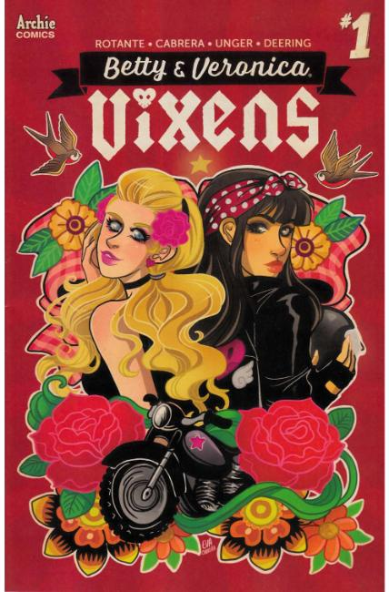 Betty and Veronica Vixens #1 Cover A [Archie Comic] THUMBNAIL