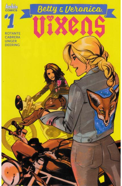 Betty and Veronica Vixens #1 Cover C [Archie Comic] THUMBNAIL