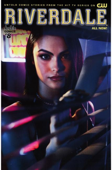 Riverdale #8 Cover B- CW Veronica Photo [Archie Comic] THUMBNAIL