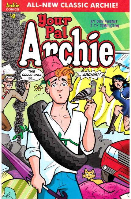 All New Classic Archie Your Pal Archie #4 Cover A [Archie Comic]