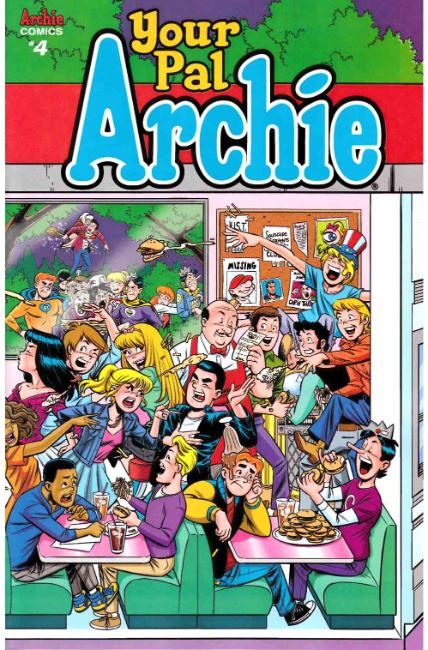 All New Classic Archie Your Pal Archie #4 Cover B [Archie Comic] LARGE