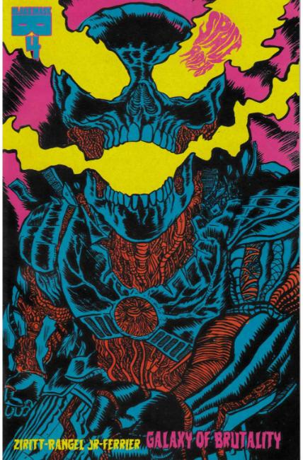 Space Riders Galaxy of Brutality #4 [Black Mask Comic] THUMBNAIL
