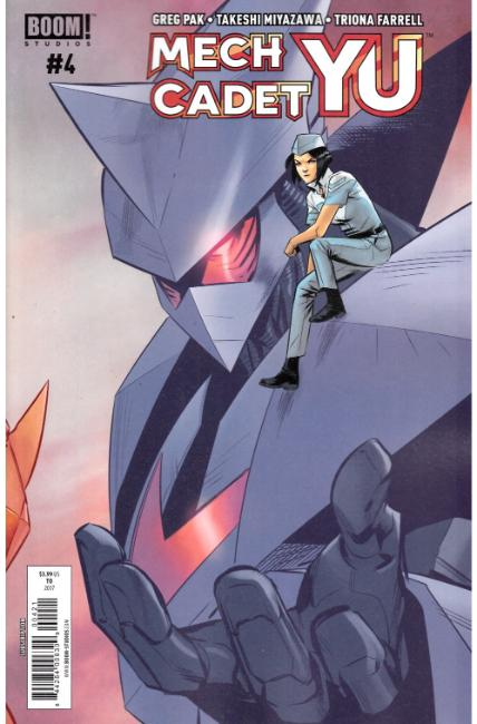 Mech Cadet Yu #4 Subscription Cover [Boom Comic] THUMBNAIL
