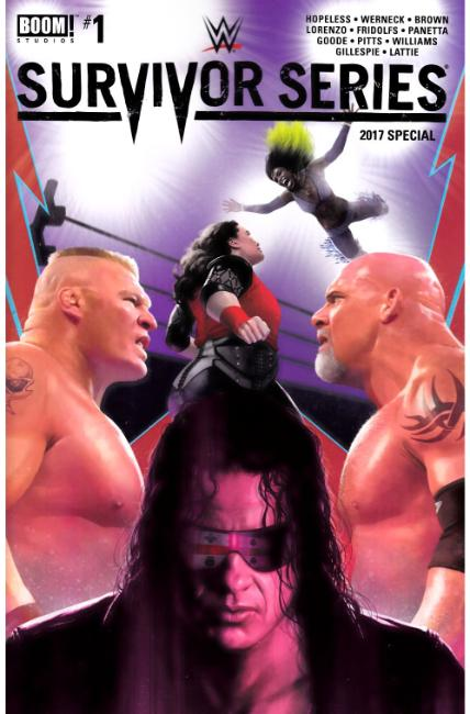 WWE Survivors Series 2017 Special #1 [Boom Comic] THUMBNAIL