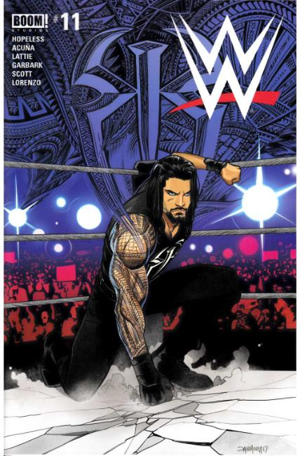 WWE #11 [Boom Comic] LARGE