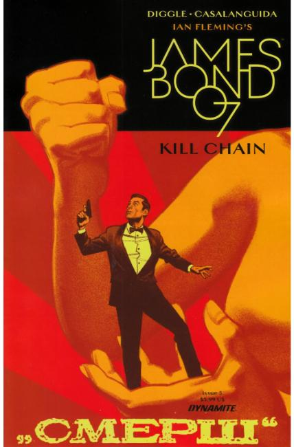 James Bond Kill Chain #5 [Dynamite Comic] THUMBNAIL