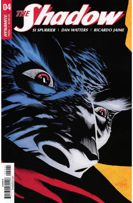 Shadow #4 Cover B [Dynamite Comic] THUMBNAIL
